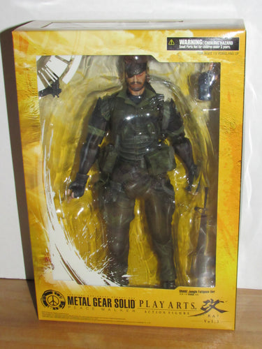 Square Enix Play Arts Kai Metal Gear Solid Peace Walker Vol. 3 Snake Jungle Fatigues Ver.