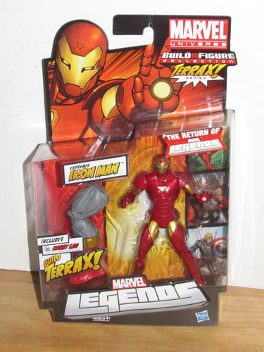 Marvel Legends Return Terrax Series Extremis Iron Man