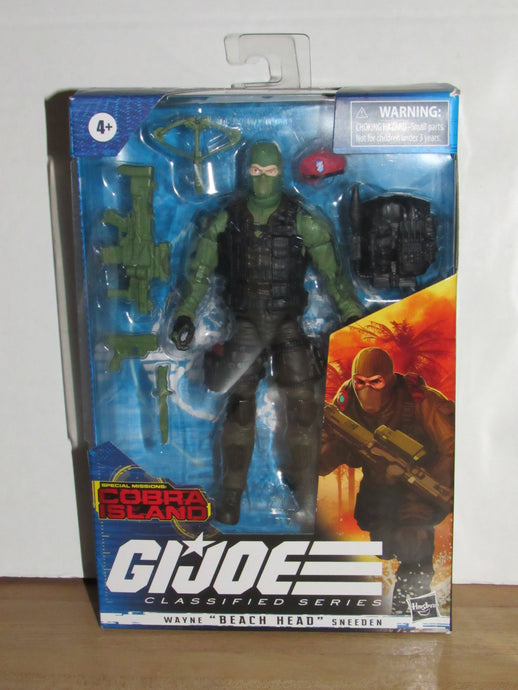 GI Joe Classified Series #10 Special Missions: Cobra Island Beach Head (Target Exc.)