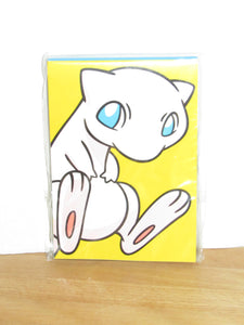 "Pokemon Center Japan Exclusive Mew Notepad (5"" x 3.5"")"
