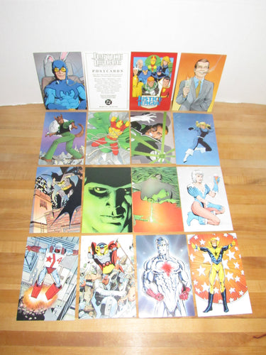 DC Comics Justice League International Set of 15 Postcards (art by Kevin Maguire!)