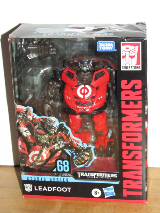 Transformers Studio Series #68 Deluxe Dark of the Moon Leadfoot Target Exclusive
