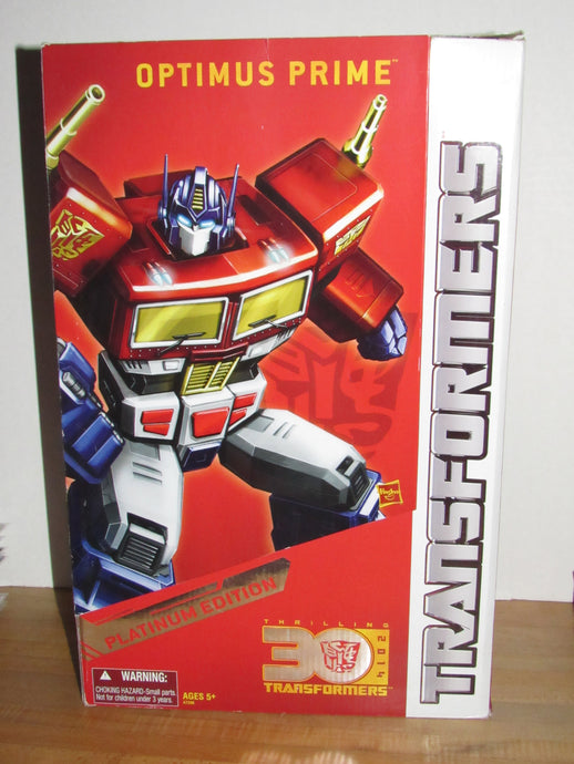 Transformers Platinum Edition Year of the Horse Masterpiece Optimus Prime
