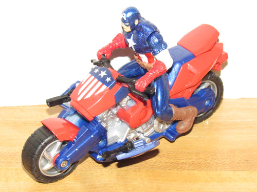 Captain America: The First Avenger Captain America Cruisers Power Charge Cycle