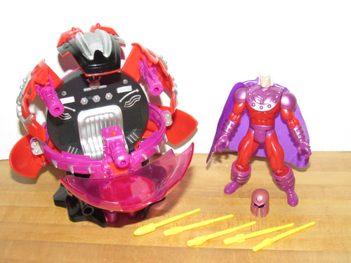 Marvel ToyBiz X-Men Secret Weapon Force Magneto Battle Base