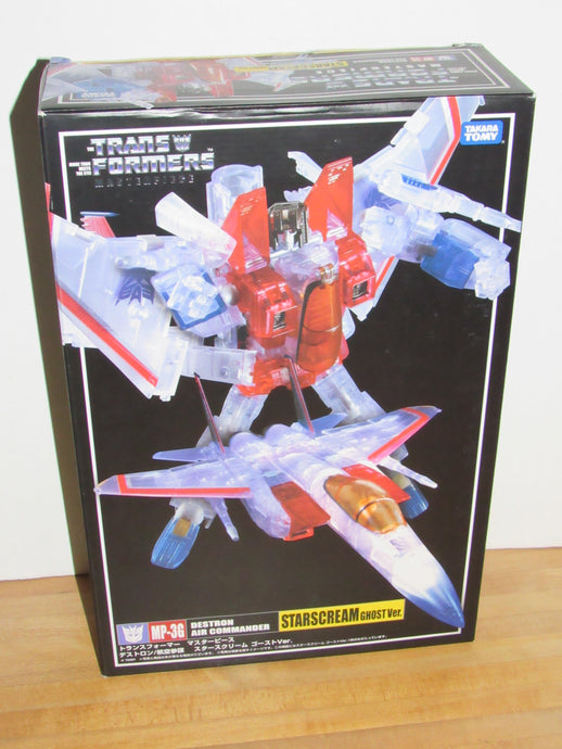 Takara Tomy Transformers Masterpiece MP-3G Starscream Ghost Version