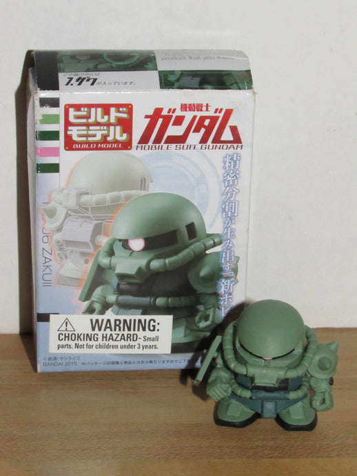 Bandai Shokugan Build Model Mobile Suit Gundam 2 #7 MS-06 Zaku II