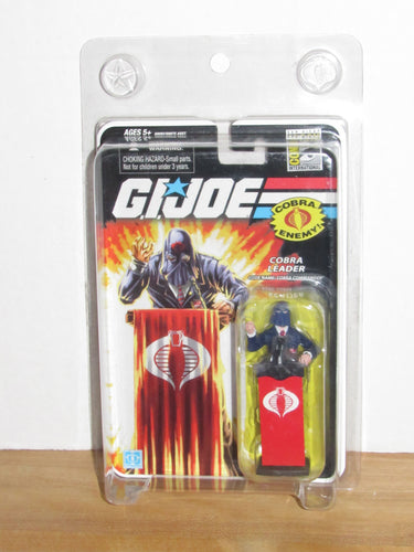 GI Joe 25th Anniversary SDCC 2008 Exclusive Cobra Commander (Blue Suit Variant)