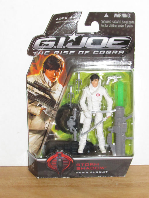 GI Joe The Rise of Cobra Storm Shadow (Paris Pursuit)