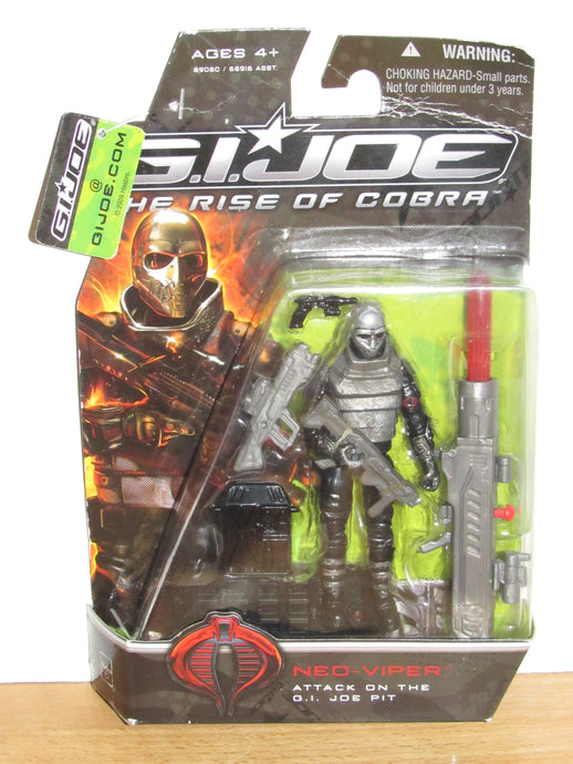 GI Joe The Rise of Cobra Neo-Viper (Attack on the Pit)