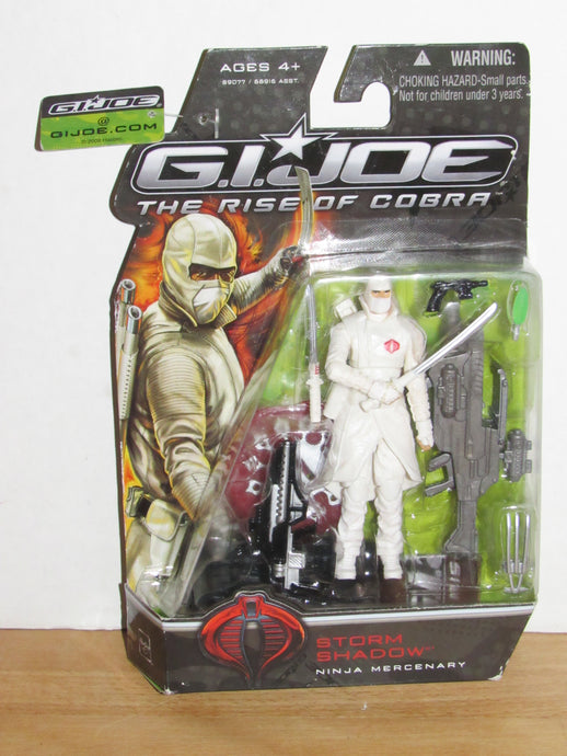 GI Joe The Rise of Cobra Storm Shadow (Ninja Mercenary)