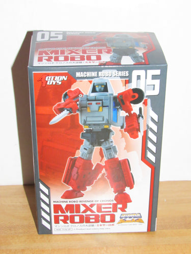 Action Toys Machine Robo Series 05 Mixer Robo