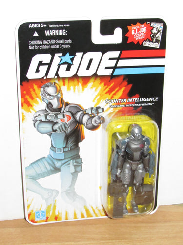 GI Joe 25th Anniversary Mercenary Wraith (Solid Colors Variant)