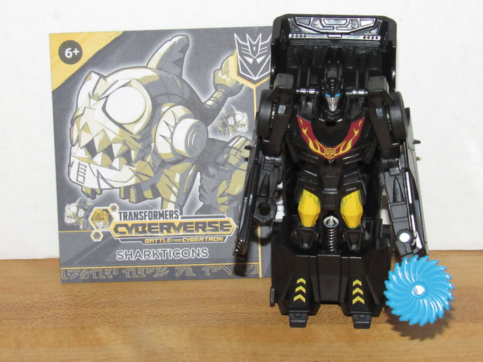 Transformers Cyberverse Battle for Cybertron 1-Step Changer Stealth Force Hot Rod