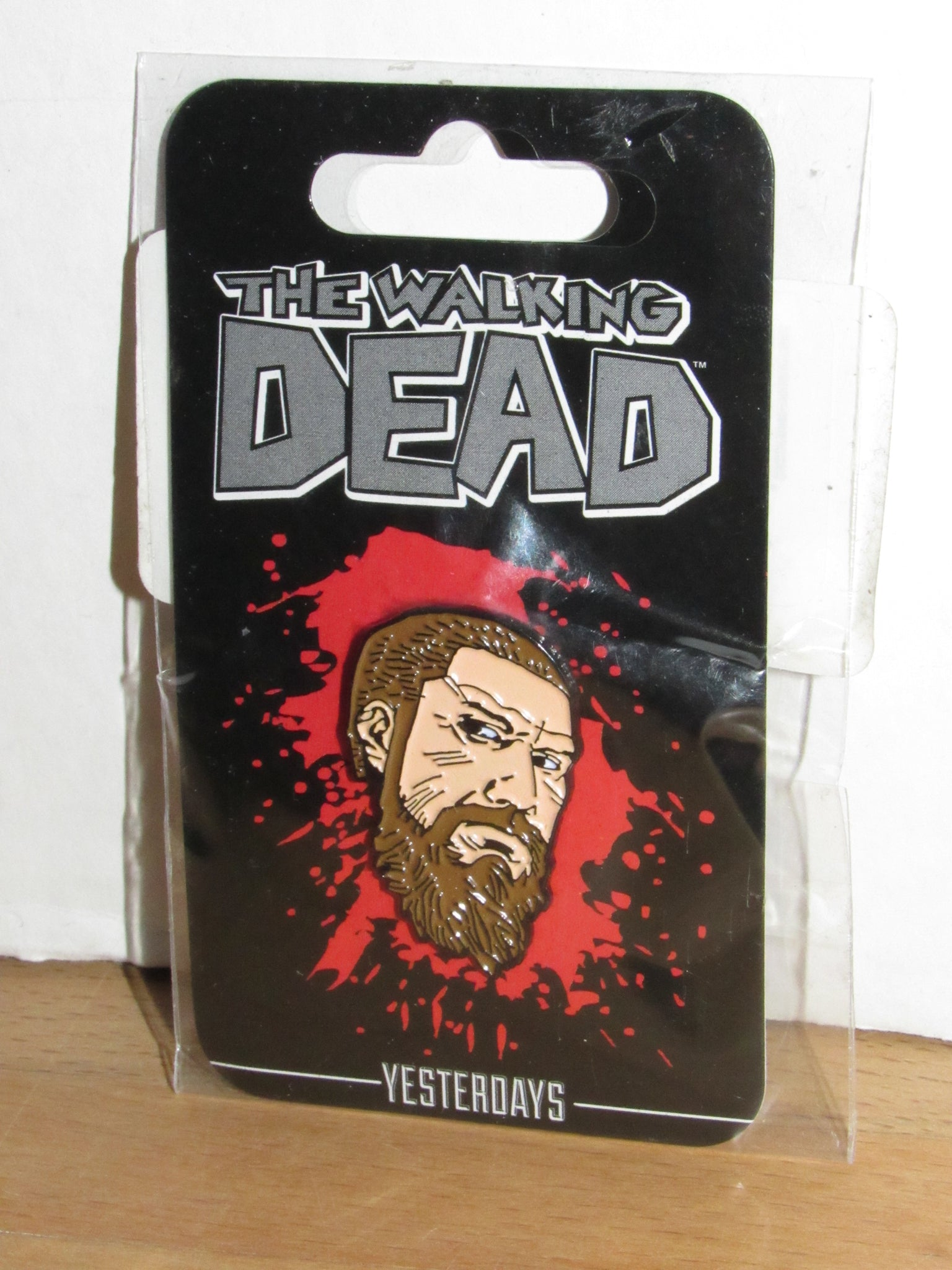 THE WALKING DEAD Old Rick Face Pin