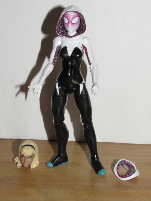 Marvel Legends Spider-Man Absorbing Man Series Spider-Gwen