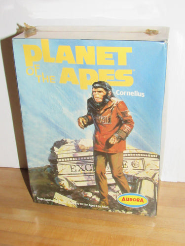 Aurora Planet of the Apes Cornelius Snap Together Plastic Model Kit
