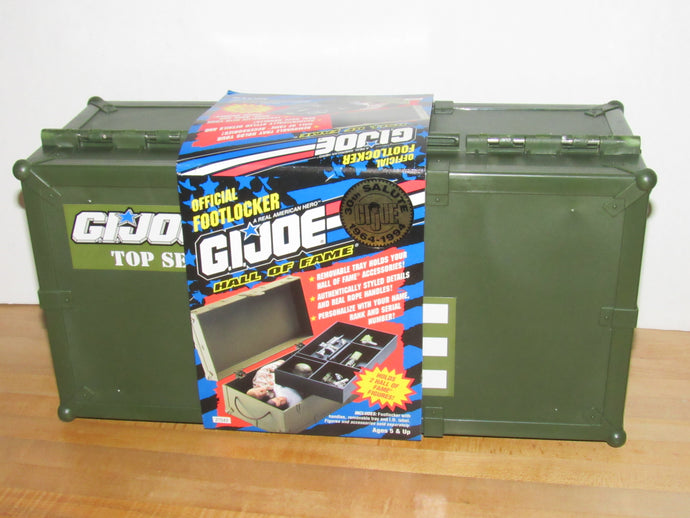 GI Joe Hall of Fame Official Footlocker Carrying Case