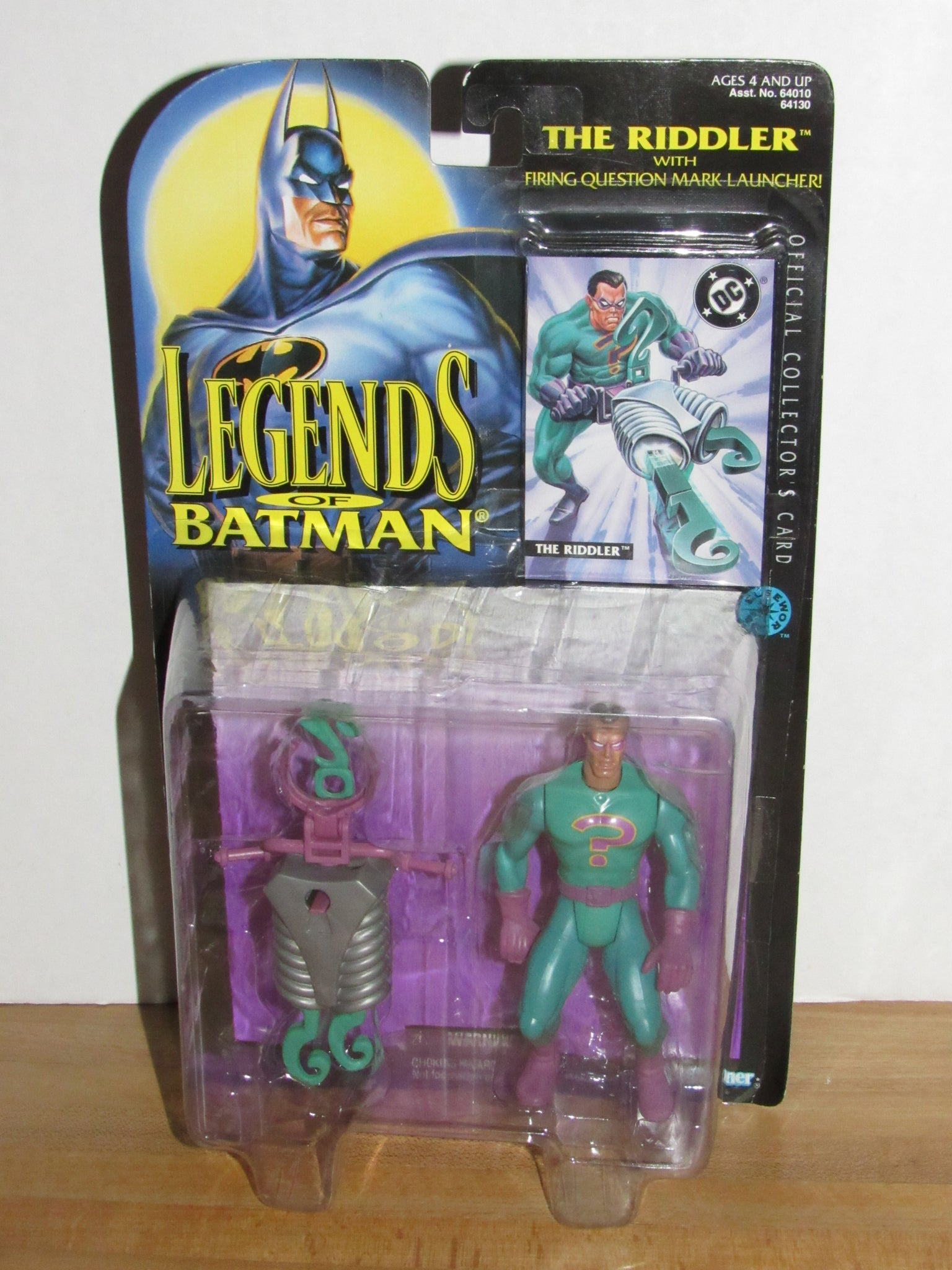 Kenner Legends of Batman The Riddler with Firing Question Mark