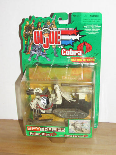 GI Joe Spy Troops Polar Blast & Snow Serpent