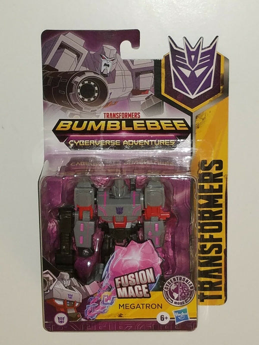 Transformers Bumblebee Cyberverse Adventures Warrior Class Cybertronian Mode Megatron
