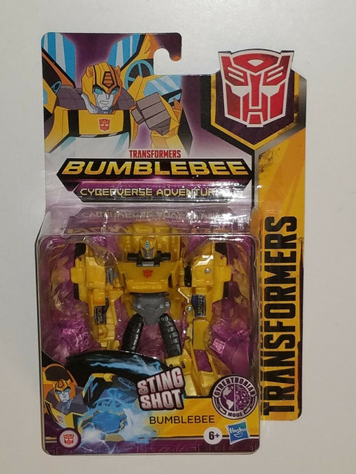 Transformers Cyberverse Adventures Warrior Class Cybertronian Mode Bumblebee