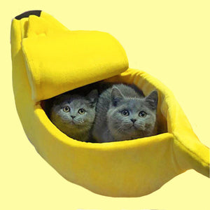 Banana Peel Pet Bed