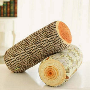 Realistic Natural Wood Print Cushions