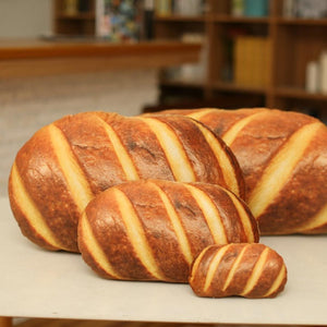 Realistic Bread Loaf Cushions
