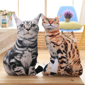 Realistic Cat Cushions