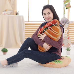 Large Realistic Food Cushions