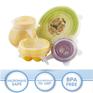 Stretch & Seal Reusable Lids (set of 6)