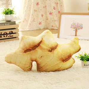 Large Realistic Vegetable Cushions