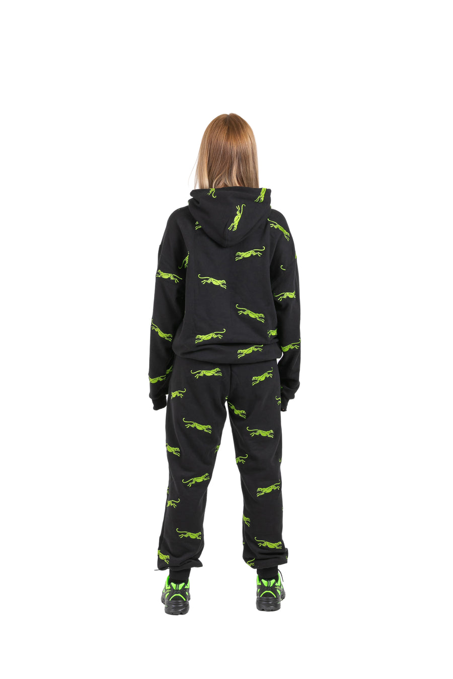 PRE ORDER - GREEN PANTHER TRACKPANTS