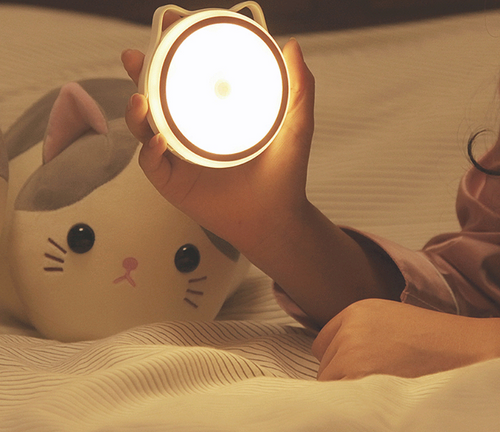 Cat shape sensor light