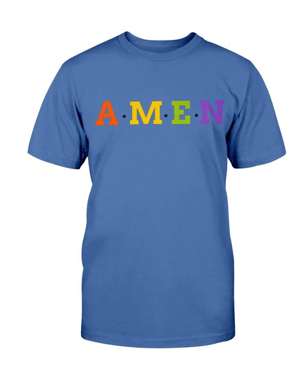 Amen -Men's Short Sleeve T-Shirt Fuel