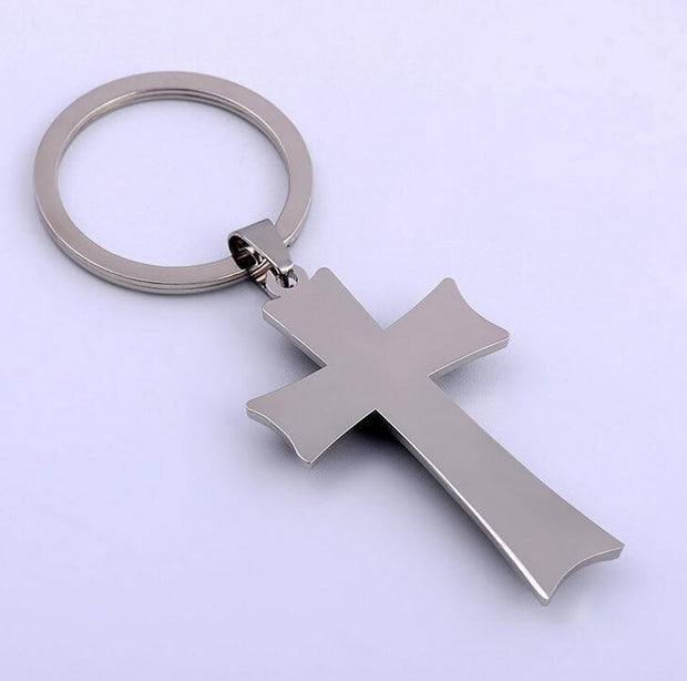 Cross Key Chain True Voyage Apparel