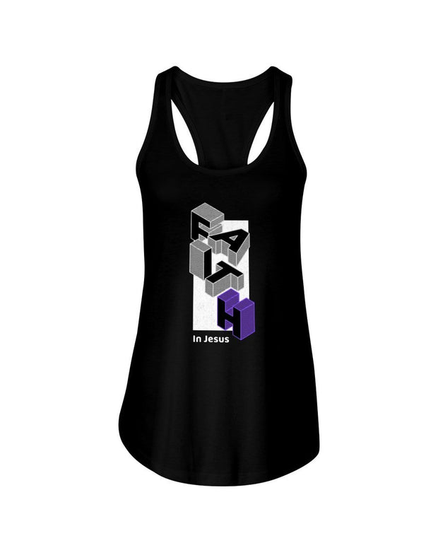 Faith – Women's Racerback Tank Top