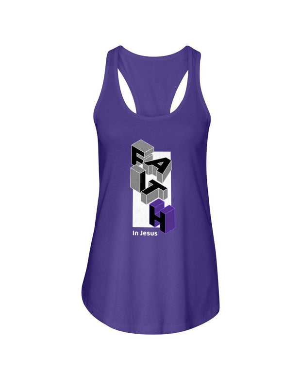 Faith  Women's Racerback Tank Top Fuel