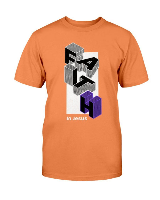 Faith in Jesus Men's T-Shirt Fuel