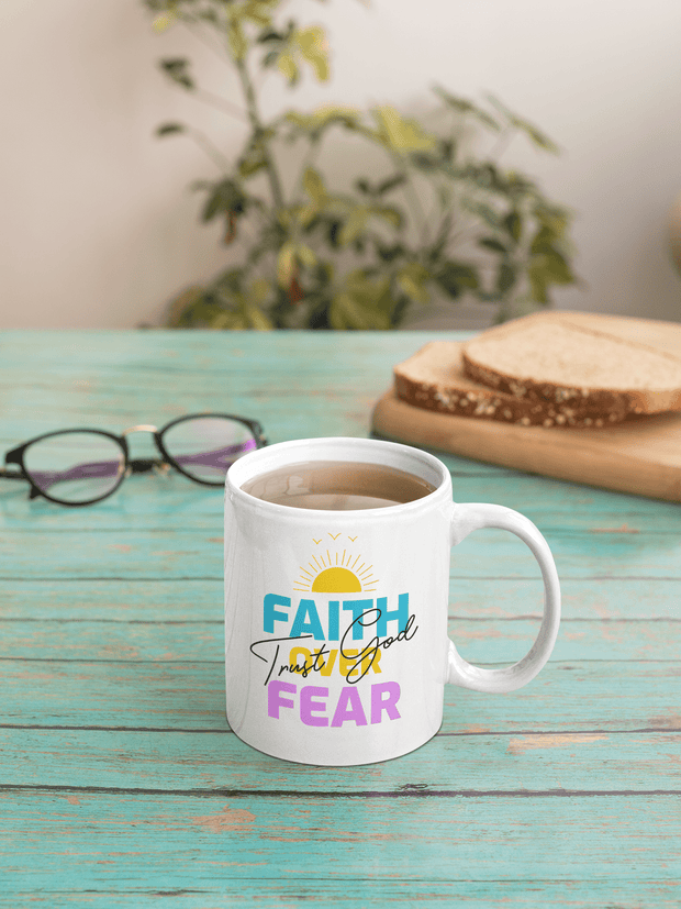 Faith over Fear 15oz Mug Fuel