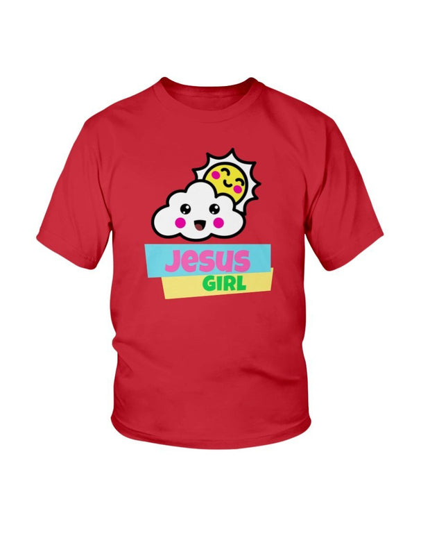 Jesus Girl - Girl's Youth T- Shirt Fuel