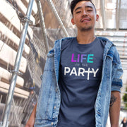 Life of the Party – Short-Sleeve Men's T-Shirt