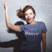 Life of the Party – Short-Sleeve Women's T-Shirt