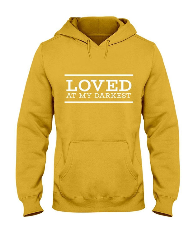 Loved at My Darkest  Women's Hoodie Fuel