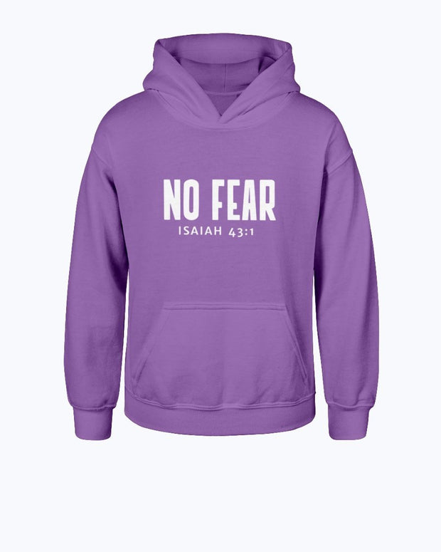 No Fear Hoodie- Youth Hoodie Fuel