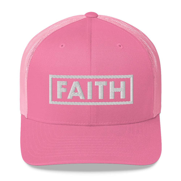 Women's Faith Truckers Cap True Voyage Apparel