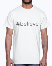 #believe  Short-Sleeve Men's T-Shirt Fuel
