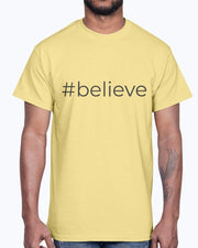 #believe – Short-Sleeve Men's T-Shirt
