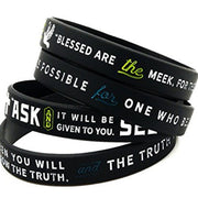 New Testament Bible Bracelets with Scripture Verses